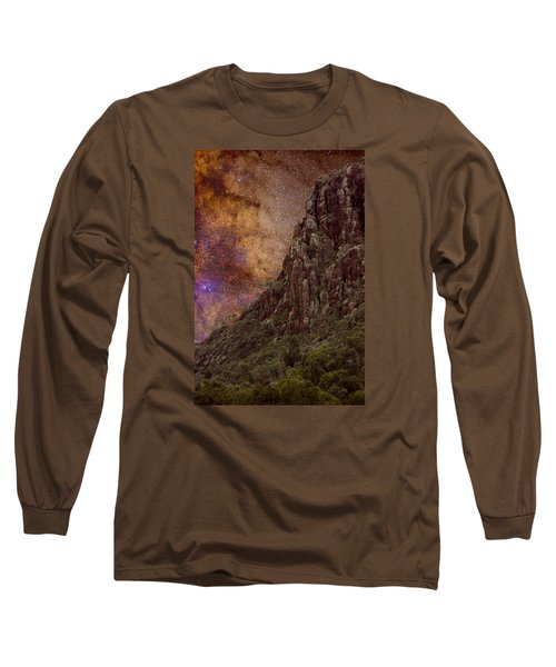 Long Sleeve T-Shirt featuring the photograph Aboriginal Dreamtime by Charles Warren