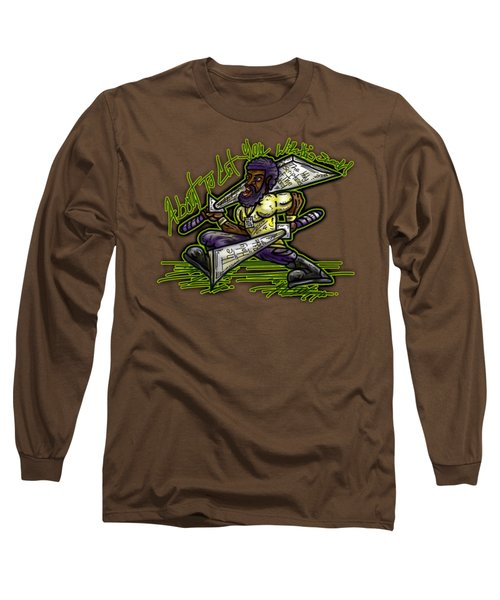 About To Cut You With This Sword Long Sleeve T-Shirt