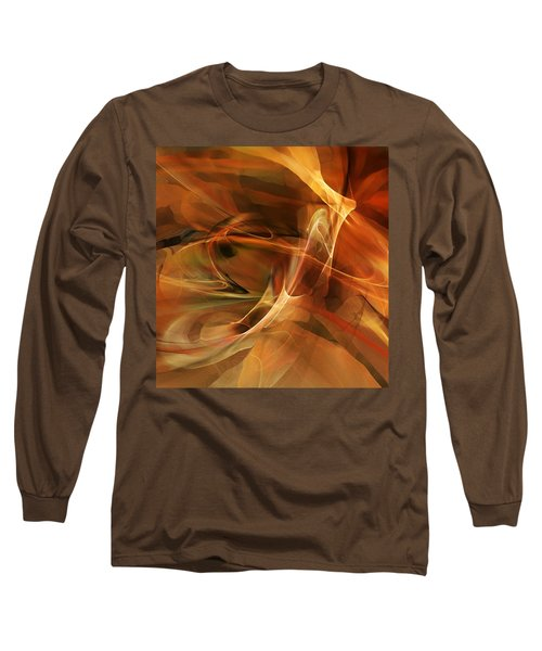 Abstract 060812a Long Sleeve T-Shirt