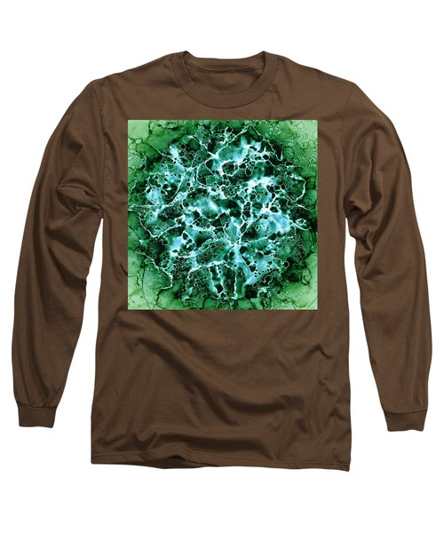Abstract 3 Long Sleeve T-Shirt by Patricia Lintner