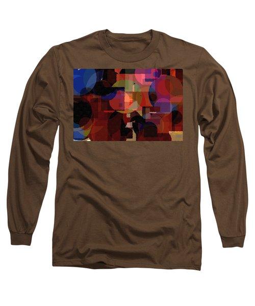 Abstract 33017-2 Long Sleeve T-Shirt by Maciek Froncisz