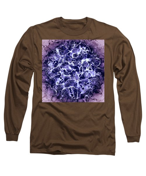 Abstract 4 Long Sleeve T-Shirt by Patricia Lintner