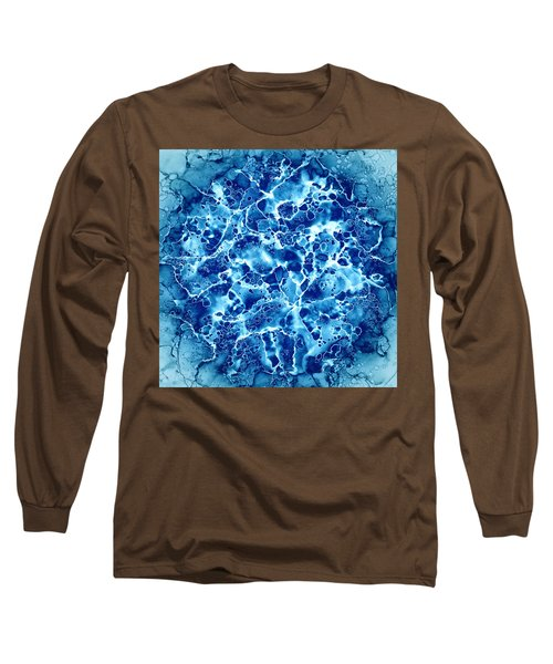 Abstract 5 Long Sleeve T-Shirt by Patricia Lintner