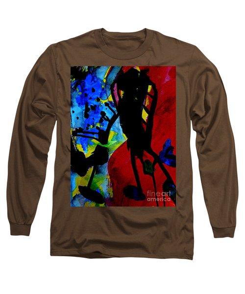Abstract-7 Long Sleeve T-Shirt