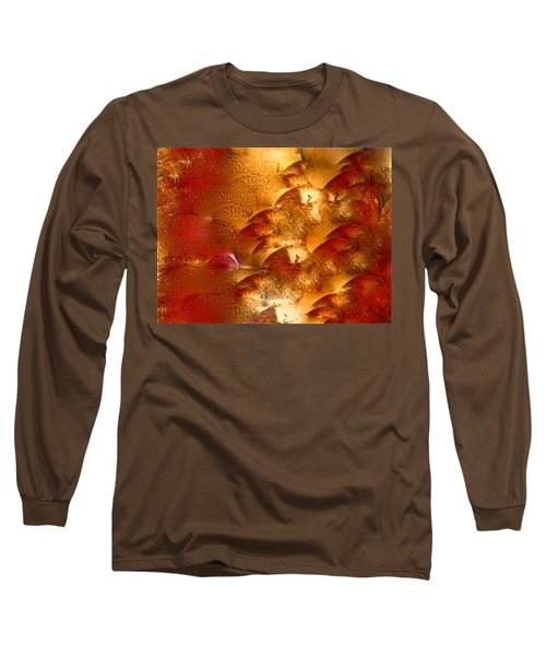 Abstract 70 Long Sleeve T-Shirt