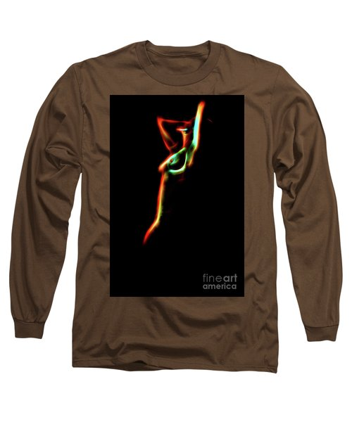 Abstract Body 2 Long Sleeve T-Shirt