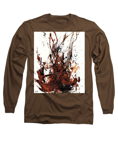 Abstract Expressionism Painting 50.072110 Long Sleeve T-Shirt by Kris Haas