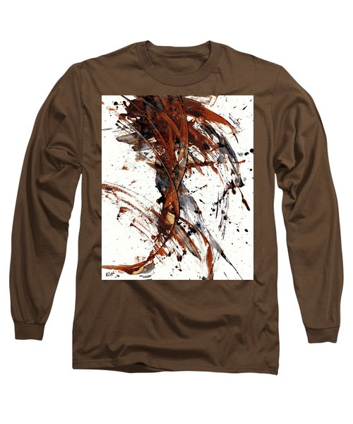 Abstract Expressionism Series 51.072110 Long Sleeve T-Shirt by Kris Haas