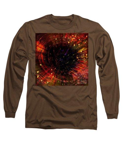 Abstract Fire  Flyer Nest Long Sleeve T-Shirt