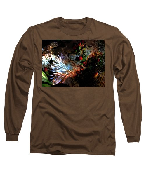 Abstract Flowers Of Light Series #5 Long Sleeve T-Shirt