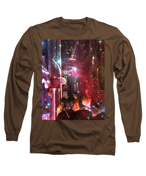 Abstract  Images Of Urban Landscape Series #12 Long Sleeve T-Shirt