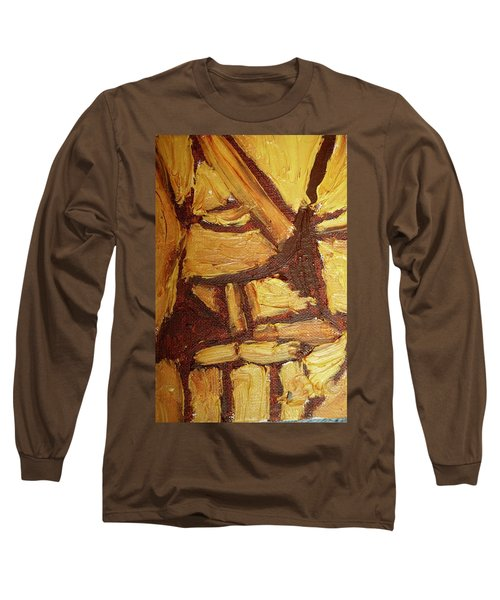 Abstract Lamp Again Long Sleeve T-Shirt by Shea Holliman