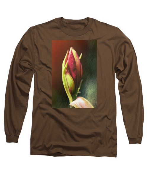 Abstract Rose Long Sleeve T-Shirt