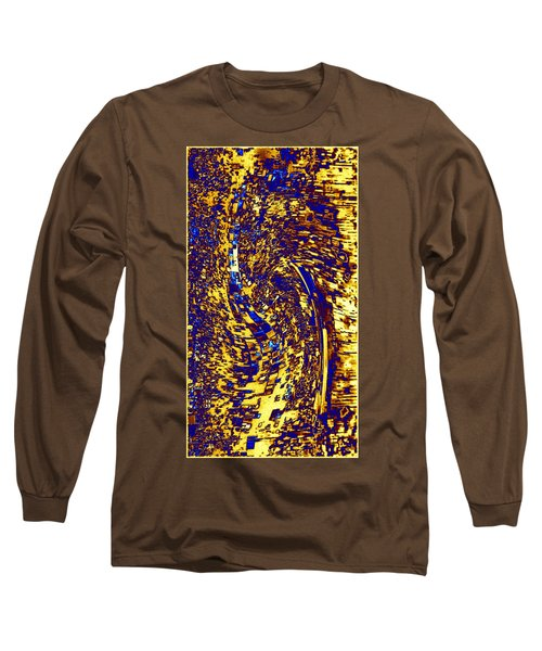 Long Sleeve T-Shirt featuring the digital art Abstractmosphere 3 by Will Borden