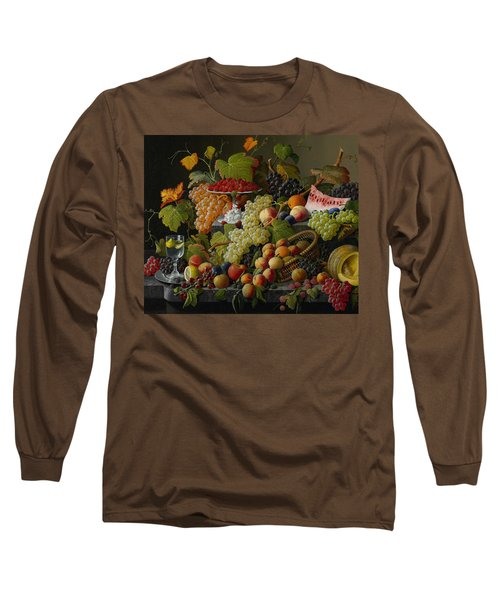 Abundant Fruit Long Sleeve T-Shirt