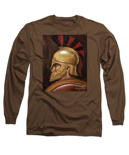 Achilles Long Sleeve T-Shirt by Arturas Slapsys