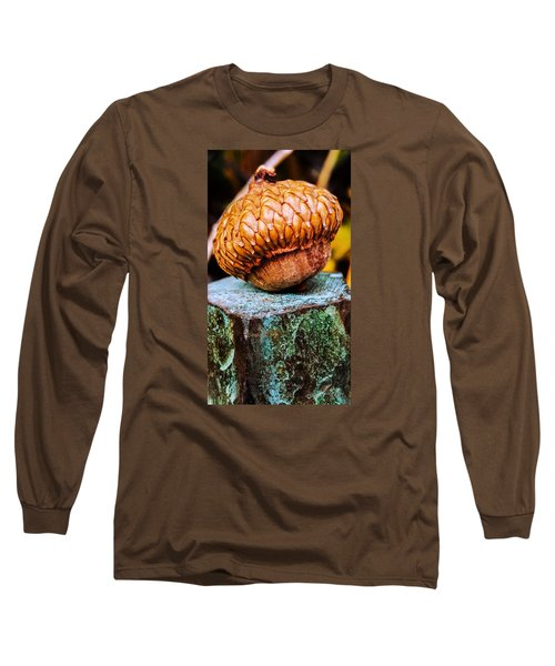 Long Sleeve T-Shirt featuring the photograph Acorn by Bruce Carpenter