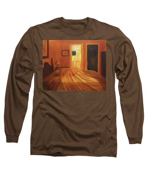 Across The Bed Long Sleeve T-Shirt