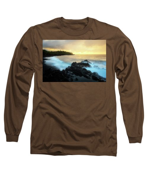 Adam And Eve Long Sleeve T-Shirt by Ryan Manuel