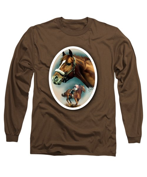 Affirmed With Name Decor Long Sleeve T-Shirt