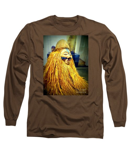 African Artifact Long Sleeve T-Shirt by John Potts