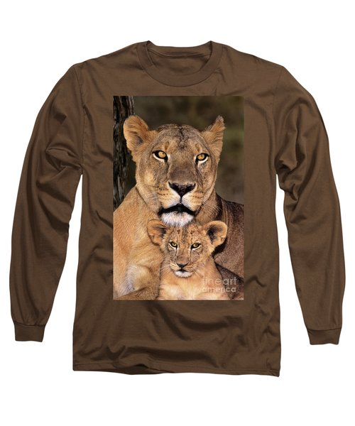 African Lions Parenthood Wildlife Rescue Long Sleeve T-Shirt