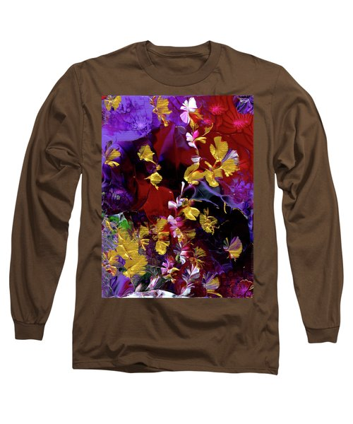African Violet Awake #3 Long Sleeve T-Shirt