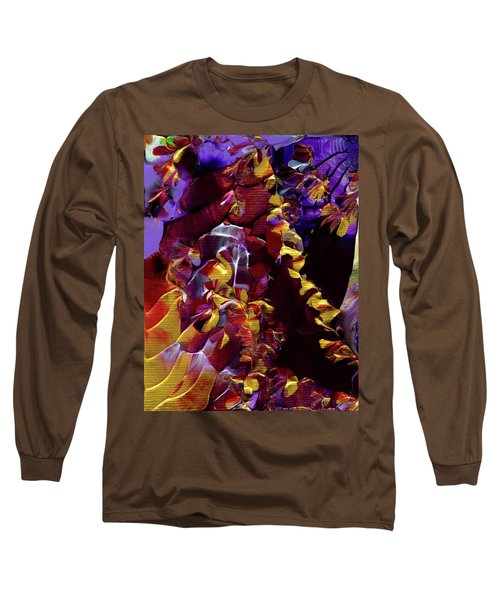 African Violet Awake Long Sleeve T-Shirt