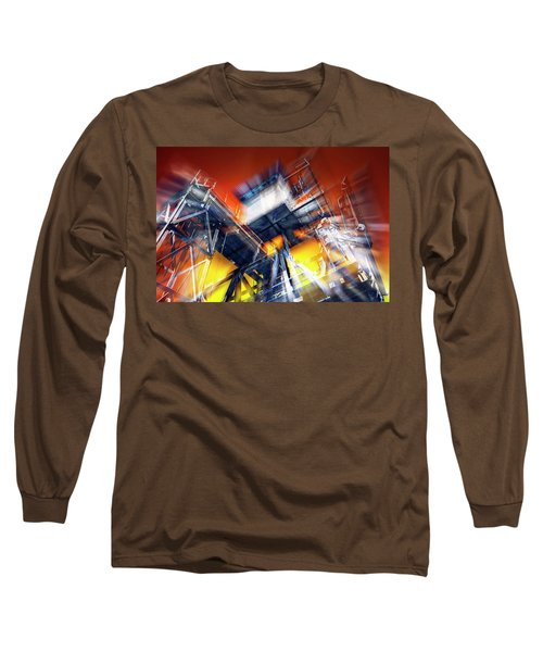 Long Sleeve T-Shirt featuring the photograph After Effect by Wayne Sherriff