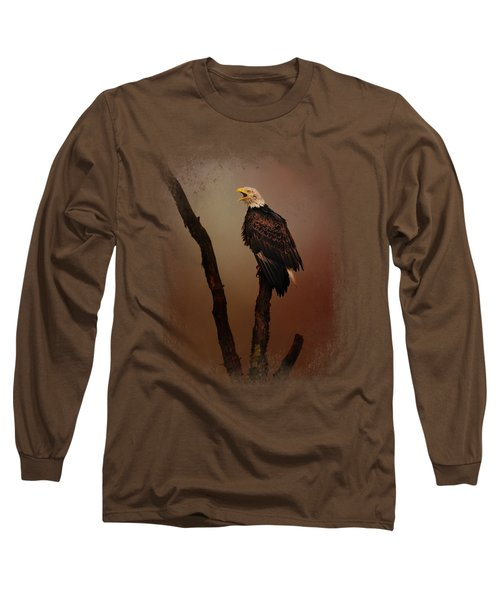 After The Autumn Storm Long Sleeve T-Shirt by Jai Johnson