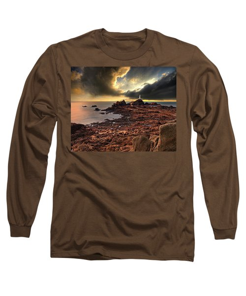 after the storm at La Corbiere Long Sleeve T-Shirt