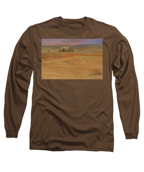 Afterglow On The Palouse Long Sleeve T-Shirt