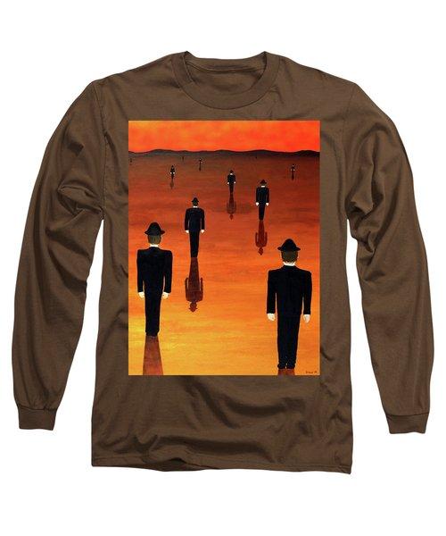 Agents Orange Long Sleeve T-Shirt