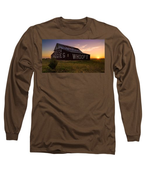 Aggie Sunset Long Sleeve T-Shirt