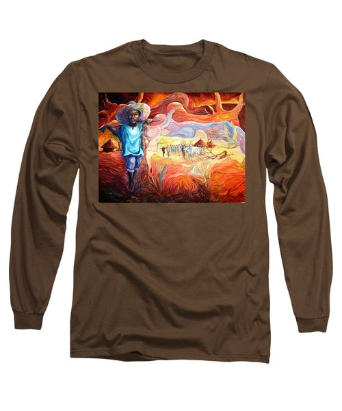 Agoi - The Sheperd Boy Long Sleeve T-Shirt
