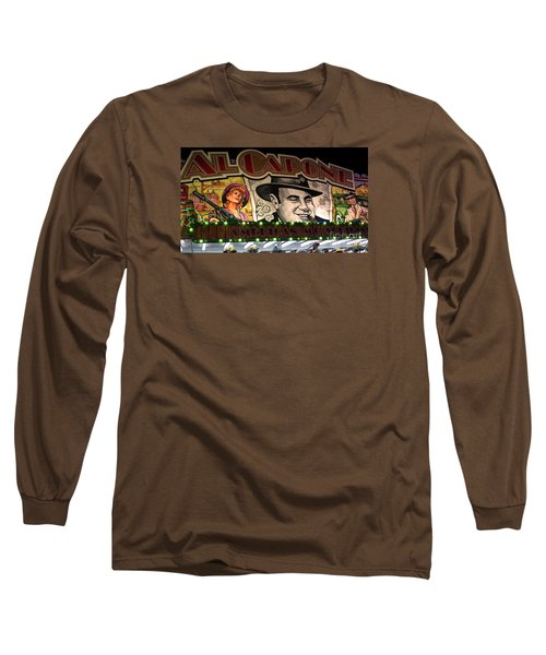 Al Capone On Funfair Long Sleeve T-Shirt