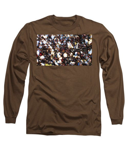 Alaska Clams2 Long Sleeve T-Shirt