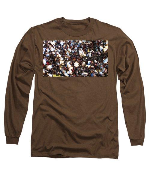 Alaska Clams2 Long Sleeve T-Shirt