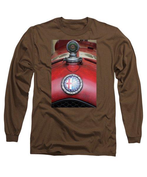 Alfa Romeo 8c 2600 Muletto Long Sleeve T-Shirt