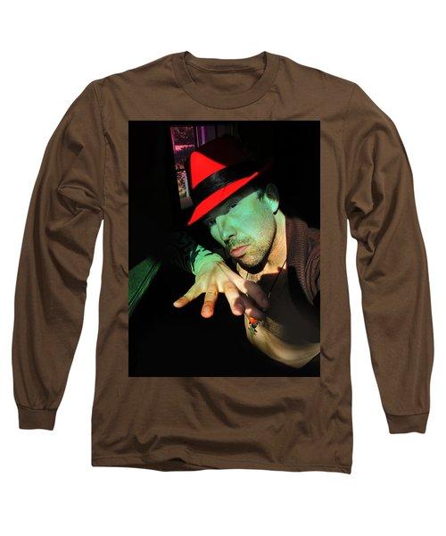 Alien Hat Long Sleeve T-Shirt