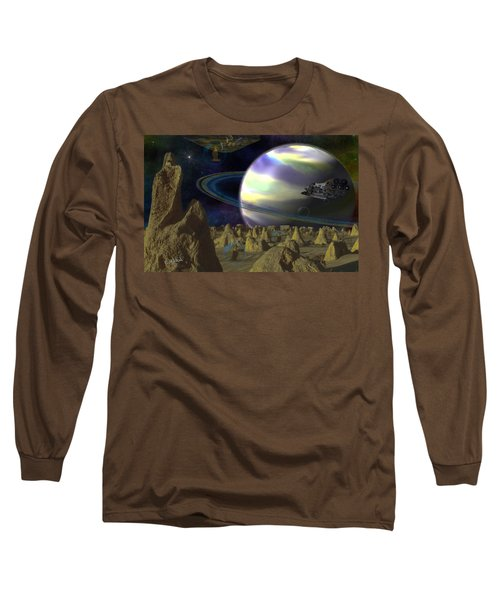 Alien Repose Long Sleeve T-Shirt