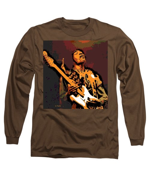 All Along The Watchtower Long Sleeve T-Shirt by George Pedro