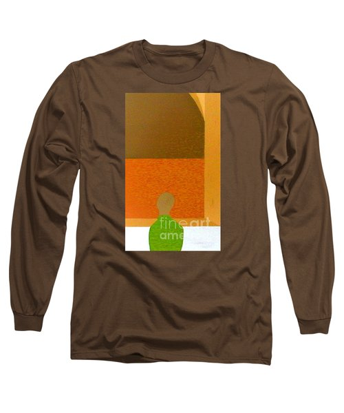 Long Sleeve T-Shirt featuring the painting All Children Wonder by Bill OConnor