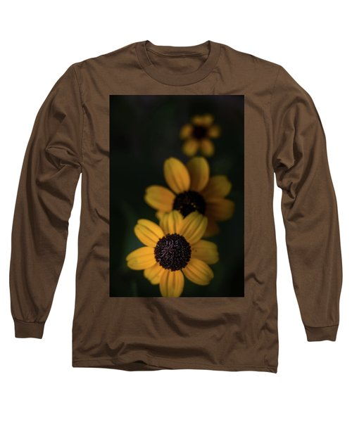 All In A Row Long Sleeve T-Shirt by Peter Scott