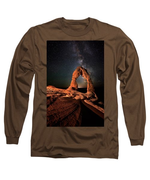 All Lines Lead To Delicate Arch Long Sleeve T-Shirt