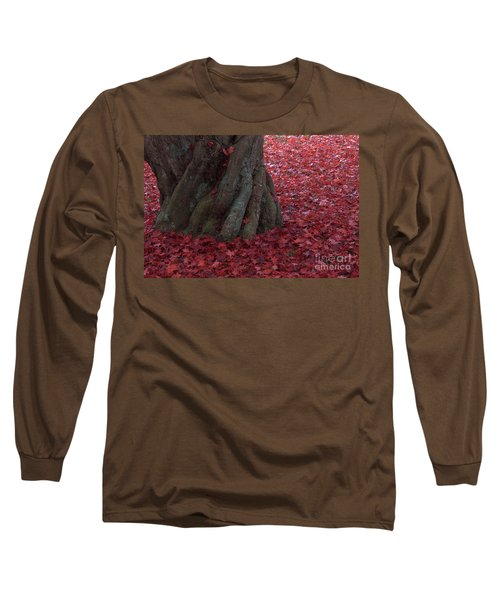 All Red Long Sleeve T-Shirt by Steven Macanka