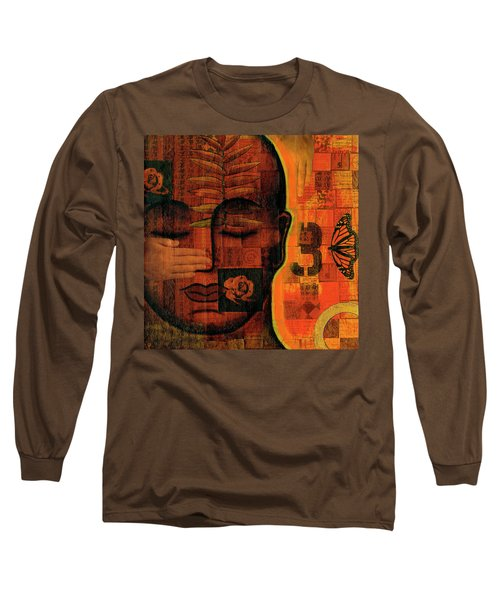 Long Sleeve T-Shirt featuring the painting All Seeing by Gloria Rothrock