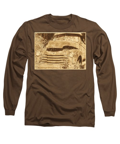 All Used Up Long Sleeve T-Shirt by Victor Montgomery