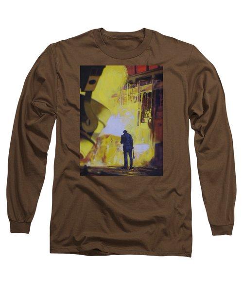 Allen Town Long Sleeve T-Shirt by Vivien Rhyan