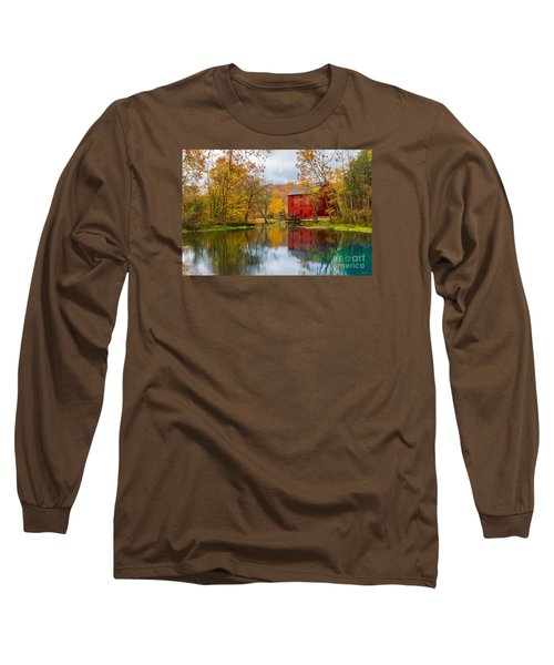 Alley Mill And Spring Long Sleeve T-Shirt by Jennifer White